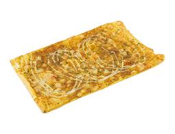 薄焼きスパイシーカレーチーズパン