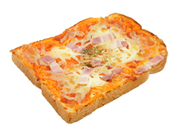 ベーコンとチーズのピザトースト