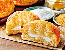 塩バターメロンパン ホイップクリーム